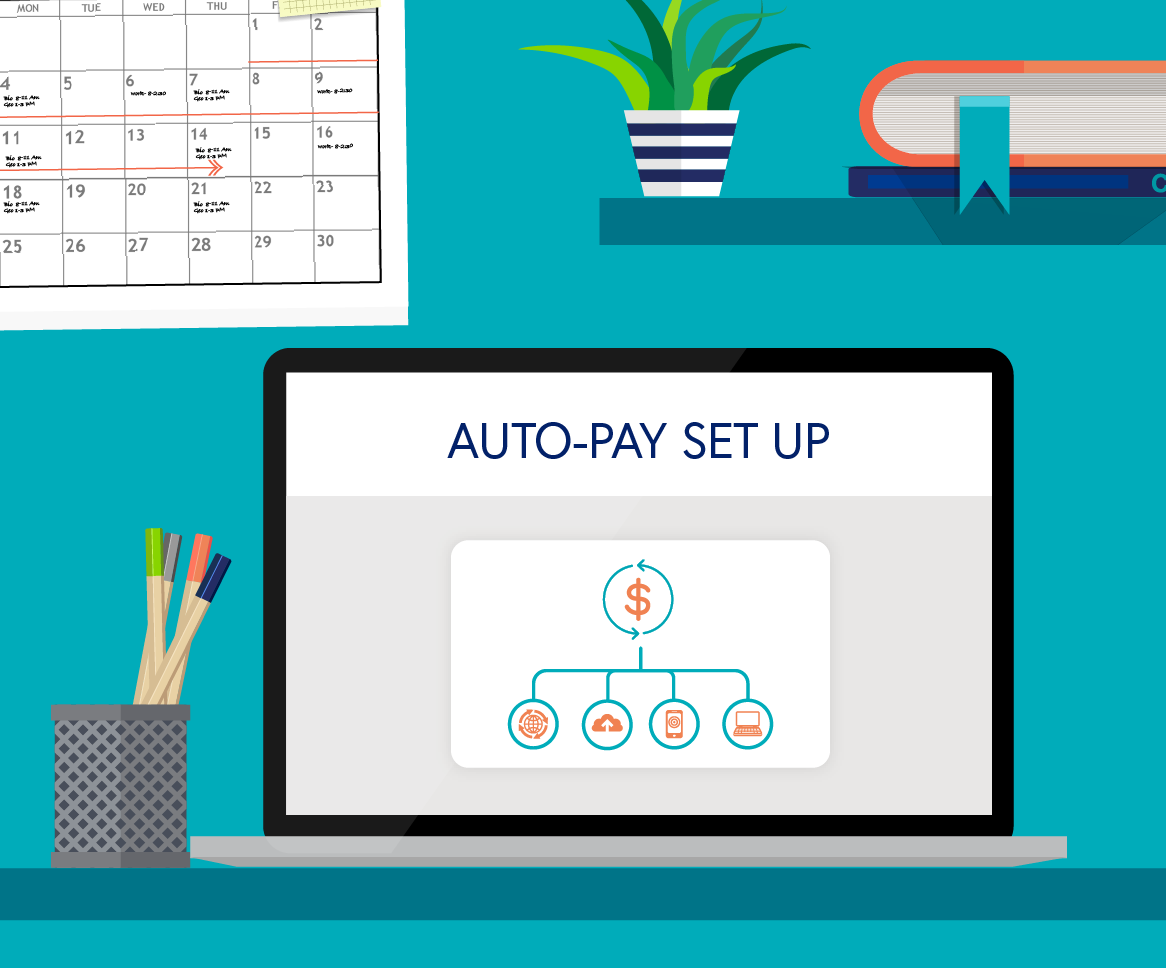 Auto-pay set up